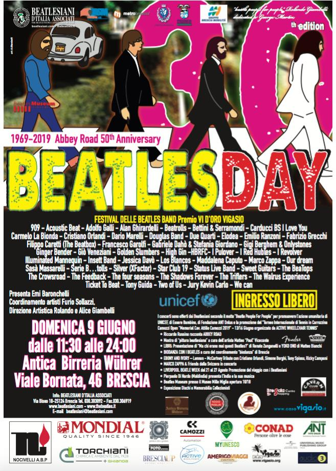 BEATLES DAY 2019 - Locandina